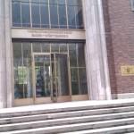 Eingangsportal zum Gerichtsgebäude